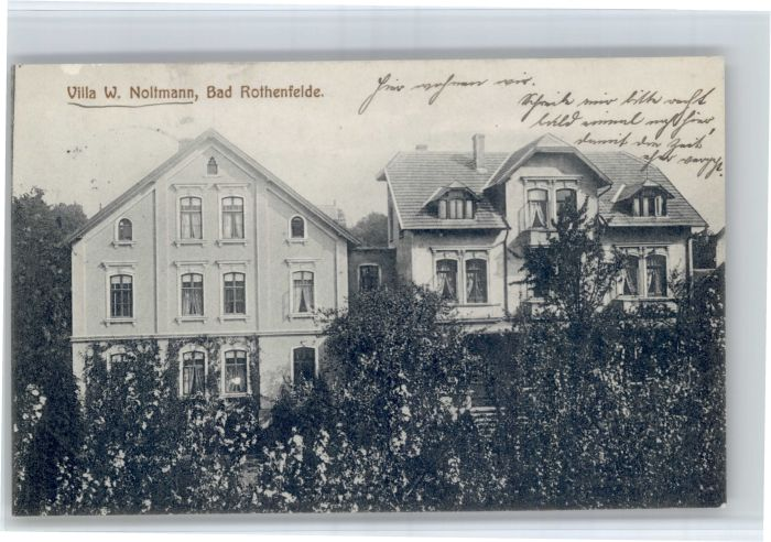 Bad Rothenfelde Bad Rothenfelde Villa W. Noltmann x / Bad Rothenfelde /Osnabrueck LKR