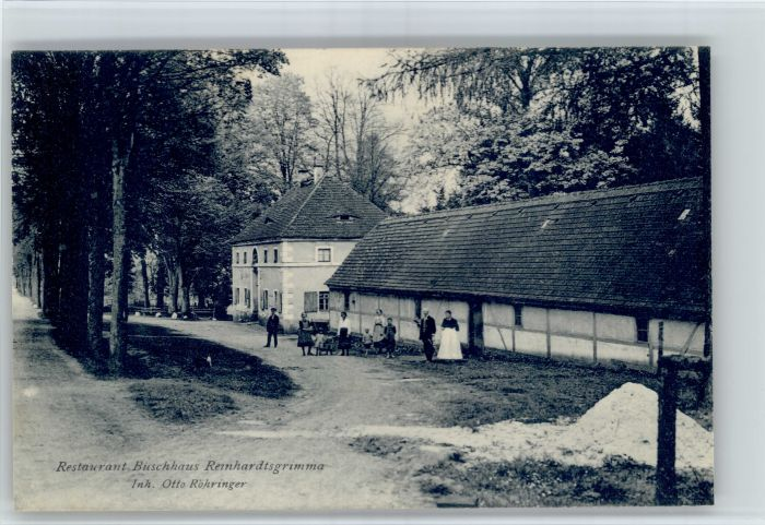 Reinhardtsgrimma Reinhardtsgrimma Restaurant Buschhaus * / Reinhardtsgrimma /Saechsische Schweiz-Osterzgebirge LKR