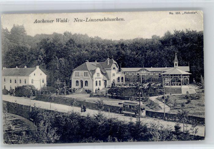 Aachen Aachen [Stempelabschlag] Aachener Wald Neu-Linzenshaeuschen x / Aachen /Aachen LKR