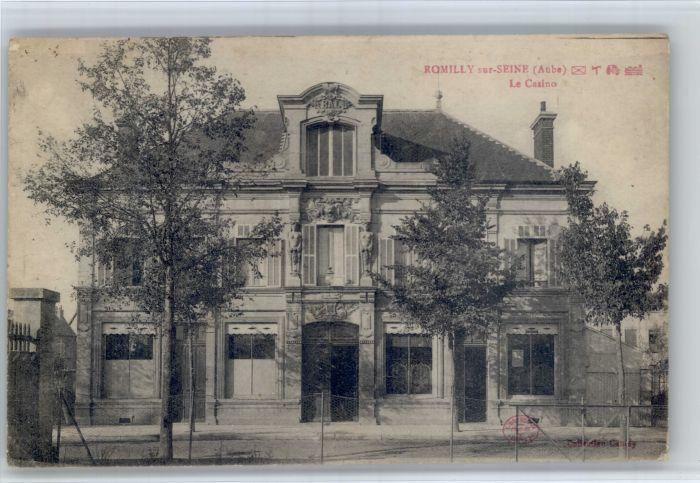 Romilly-sur-Seine Romilly-sur-Seine Aube Casino x / Romilly-sur-Seine /Arrond. de Nogent-sur-Seine