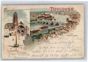 Toulouse Haute-Garonne Toulouse Cathedrale St. Etienne  x / Toulouse /Arrond. de Toulouse