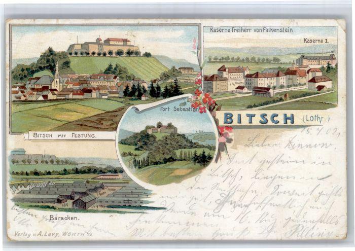 Bitsch Lothringen Bitsch Lothringen Festung Fort Sebastian Kaserne Freiherr von Falkenstein x / Bitche /Arrond. de Sarreguemines