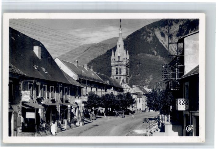 Corps Corps Isere Rue fosses Hotel de Ville Hotel Poste * / Corps /Arrond. de Grenoble