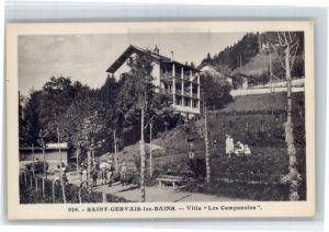 Saint-Gervais-les-Bains Saint-Gervais-les-Bains Villa Les Campanules * / Saint-Gervais-les-Bains /Arrond. de Bonneville