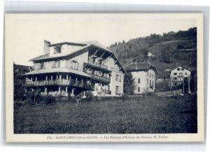 Saint-Gervais-les-Bains Saint-Gervais-les-Bains Maison Enfants Docteur M. Paillet * / Saint-Gervais-les-Bains /Arrond. de Bonneville