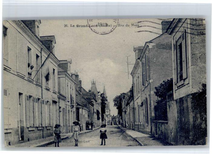 Le Grand-Luce Le Grand-Luce Rue Mans x / Le Grand-Luce /Arrond. de La Fleche