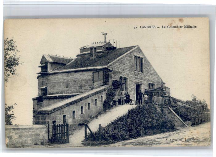 Langres Langres Colombier Militaire * / Langres /Arrond. de Langres