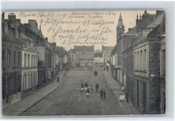La Bassee La Bassee Grand Place x / La Bassee /Arrond. de Lille