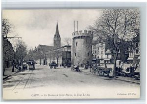 Caen Caen Strassenbahn Boulevard Saint-Pierre Tour Roi * / Caen /Arrond. de Caen