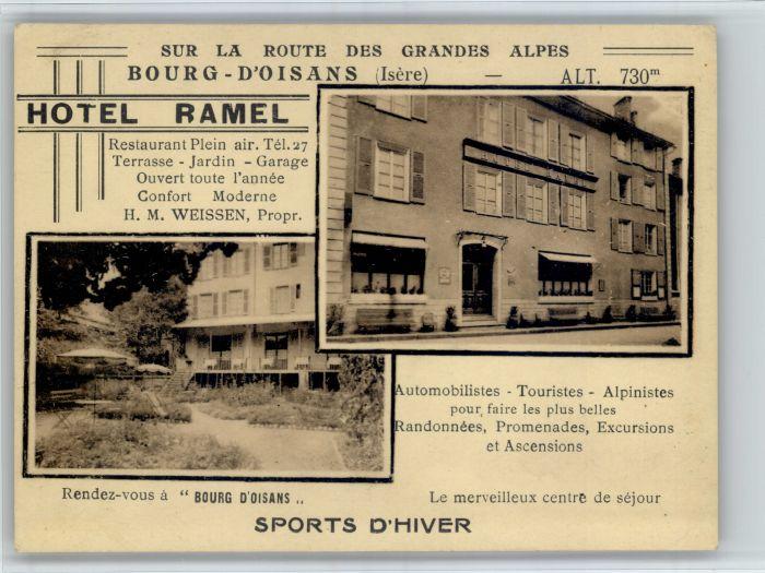 Le Bourg-d Oisans Le Bourg-d'Oisans Hotel Ramel * / Le Bourg-d Oisans /Arrond. de Grenoble