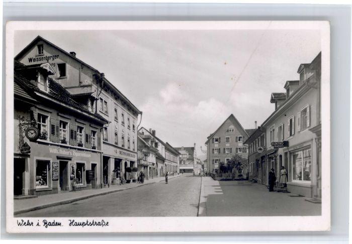Wehr Baden Wehr Baden Hauptstrasse x / Wehr /Waldshut LKR