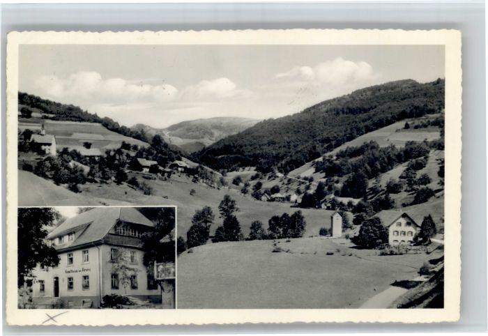 Buerchau Buerchau Gasthaus Pension zum Kranz x / Buerchau /Loerrach LKR