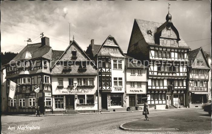 Adenau Hotel Zum wilden Schwein Marktplatz  / Adenau /Ahrweiler LKR