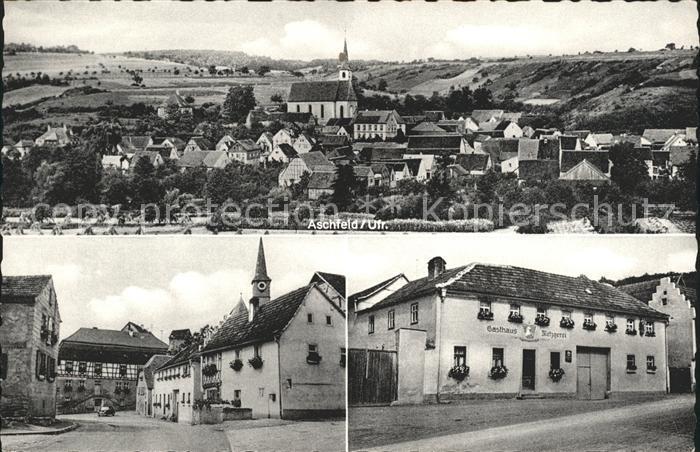 Aschfeld Gasthaus Metzgerei / Eussenheim /Main-Spessart LKR