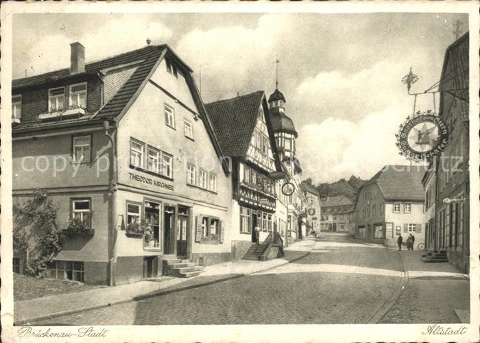 Bad Brueckenau Altstadt Gasthof zum Stern / Bad Brueckenau /Bad Kissingen LKR