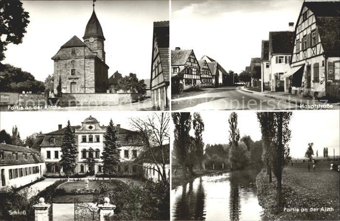 Antiquitäten Neustadt Aisch : Illesheim neustadt aisch kirche hauptstrasse schloss illesheim