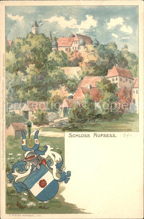 Aufsess Schloss / Aufsess /Bayreuth LKR