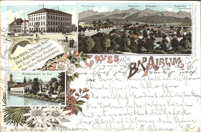 ak bad aibling alpenpanorama sojen wendelstein breitenstein schlieseeberge nr 6441172. Black Bedroom Furniture Sets. Home Design Ideas