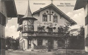 Oberammergau Villa Daheim Wohnhaus v. Anton Lang / Oberammergau /Garmisch-Partenkirchen LKR
