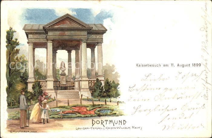 Dortmund Louisen-Tempel Kaiser Wilhelm Hain / Dortmund /Dortmund Stadtkreis