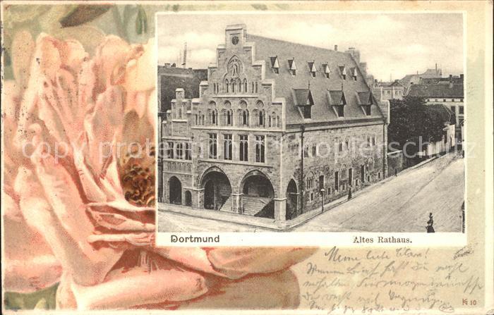 Dortmund Altes Rathaus Rose / Dortmund /Dortmund Stadtkreis