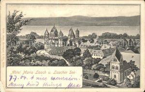 Laach Abtei Maria Laacher See / Grevenbroich /Rhein-Kreis Neuss LKR