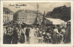 Dresden Grossstadtleben Altmarkt / Dresden Elbe /Dresden Stadtkreis