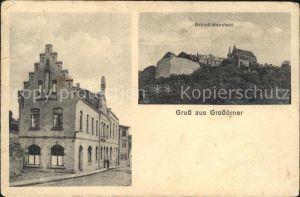 Grossoerner Bahnpost Schloss Mansfeld / Mansfeld Suedharz /Mansfeld-Suedharz LKR