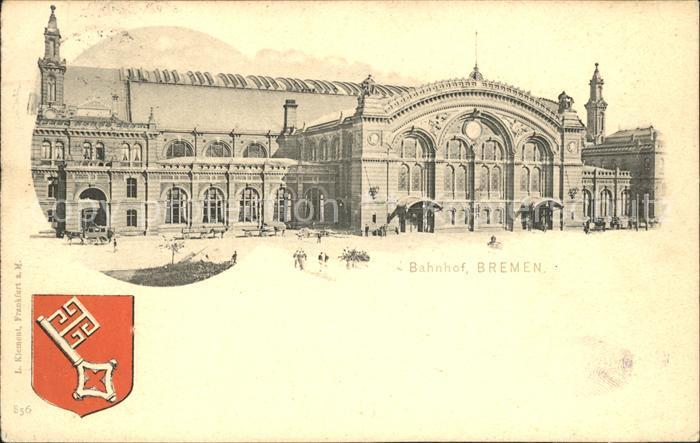 Bremen Bahnhof Wappen / Bremen /Bremen Stadtkreis