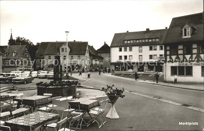 Heilsbronn Marktplatz / Heilsbronn /Ansbach LKR