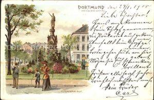 Dortmund Kriegerdenkmal Kuenstlerkarte / Dortmund /Dortmund Stadtkreis