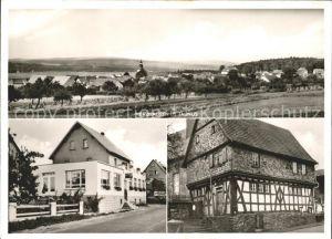 Merzhausen Taunus Kaiserliche Post Gasthaus Zur Post Pfingstbrunnen