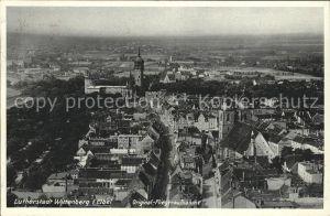 Wittenberg Lutherstadt Lutherstadt Fliegeraufnahme / Wittenberg /Wittenberg LKR