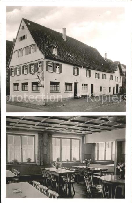 Hecht Tübingen remmingsheim gasthof zum hecht neustetten tuebingen lkr nr