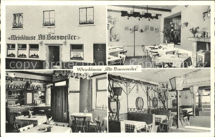 Baesweiler Weinklause Alt Baesweiler / Baesweiler /Aachen LKR