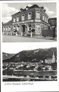 Dieblich Gasthaus Moselgruss / Dieblich /Mayen-Koblenz LKR