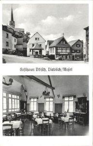 Dieblich Gasthaus Doetsch / Dieblich /Mayen-Koblenz LKR