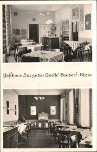 Bendorf Rhein Gasthaus zur guten Quelle / Bendorf /Mayen-Koblenz LKR