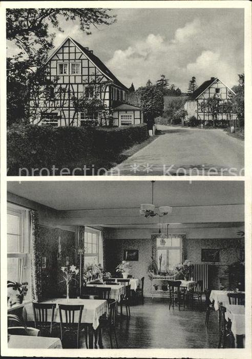 Forsten Gasthaus Paffrath Pension / Kuerten /Rheinisch-Bergischer Kreis LKR