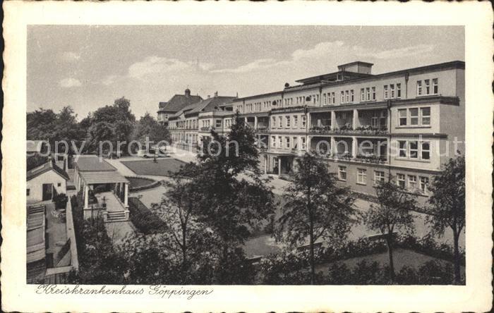 Goeppingen Kreiskrankenhaus / Goeppingen /Goeppingen LKR