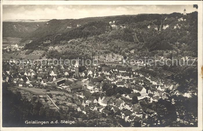 Geislingen Steige  / Geislingen an der Steige /Goeppingen LKR