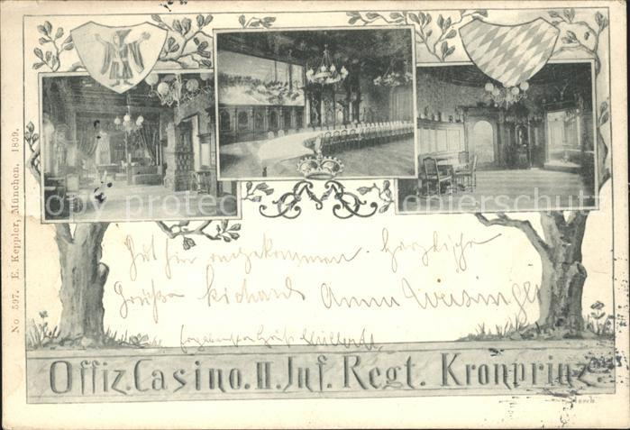 Muenchen Offiz. Casino II Kronprinz / Muenchen /Muenchen LKR