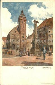 Mosbach Baden Rathaus / Mosbach /Neckar-Odenwald-Kreis LKR