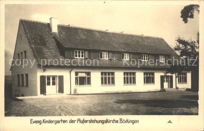 Boeckingen Ev. Kindergarten Auferstehungskirche  / Heilbronn /Heilbronn LKR