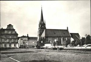 Raciborz Kosciol parafialny z XIV wieku Pfarrkirche 14. Jahrhundert Kat. Ratibor Oberschlesien