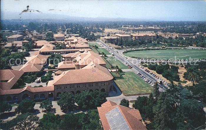 Palo Alto Stanford University aerial view Kat. Palo Alto