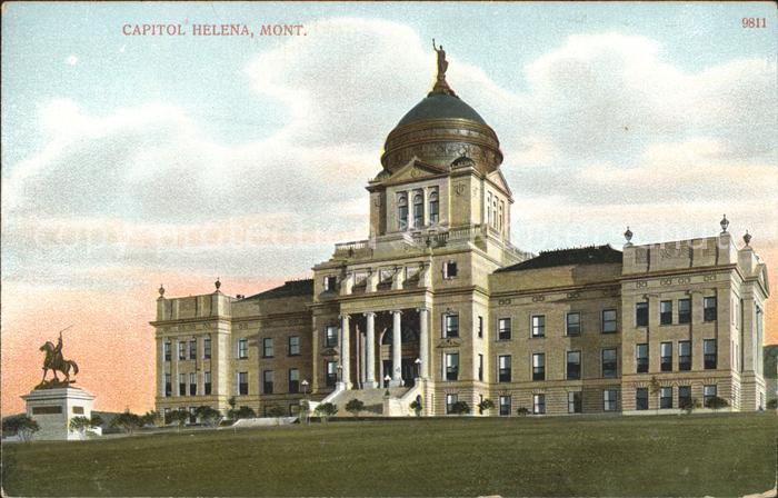 Helena Montana Capitol Kat. Helena