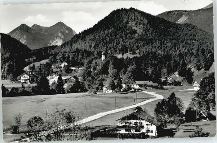 Jachenau Jachenau  x 1960 / Jachenau /Bad Toelz-Wolfratshausen LKR