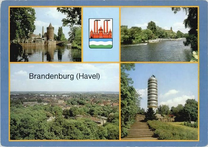 Brandenburg Havel Brandenburg Havel  x 1990 / Brandenburg /Brandenburg Havel Stadtkreis
