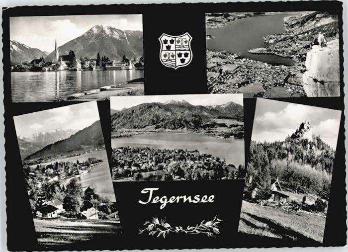 Rottach-Egern Rottach-Egern  ungelaufen ca. 1965 / Rottach-Egern /Miesbach LKR